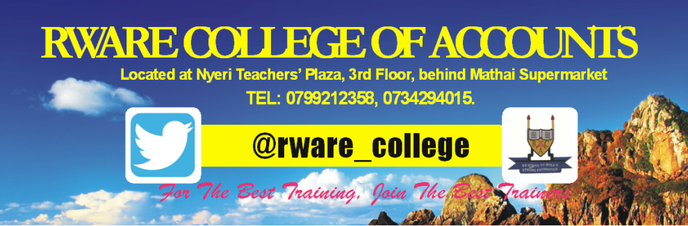 Rware College of Accounts - Nyeri